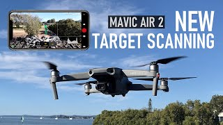 Target Scanning On The Mavic Air 2 - Why You NEED This Feature | DansTube.TV