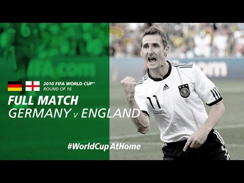 #WorldCupAtHome | Germany V England (South Africa 2010)