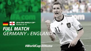 Germany v England | 2010 FIFA World Cup | Full Match