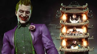 Mortal Kombat 11 Joker Gameplay Klassic Tower Walkthrough MK11 (No Commentary)