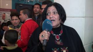 مصر العربية | عبير علي: لولا نهاد صليحة لأصبحنا عابري سبيل بالمسرح