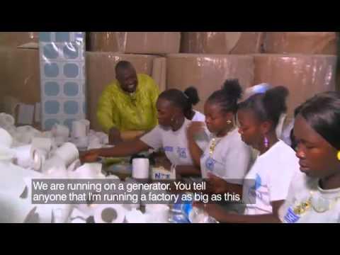 Liberian Street vendor turns $200 into a multi million dollar business CNN com