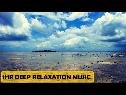 1 HOUR Deep Relaxation Music with Tropical Island in Fiji South Pacific Vlog