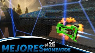MEJORES MOMENTOS #25 (Goles, Salvadas y Momentos Graciosos) | Rocket League