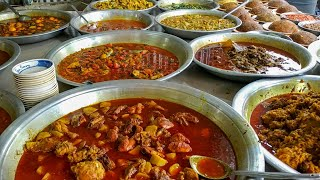 Huge Curry Bowl/Butter Chicken Curry/Shrimp Curry/Fish Curry/Mutton Curry/Shutki Vorta/Egg Curry