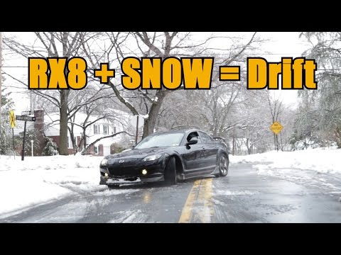 How Does the Mazda RX8 Drive in the Snow?