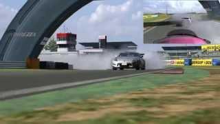 フレンド(k*)さんからの猛追 日産 フェアレディZ (Z34) '08 ・タイヤ:F...