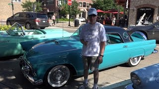 1956 Ford Thunderbird - Downers Summer Nights Classic Car Show