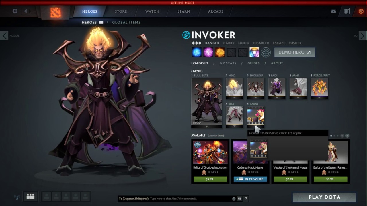 dota 2 full hero set mod winter 2017 edition youtube