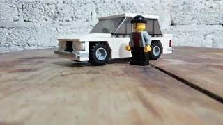 Como Hacer Un Auto De Lego(Vaz 2106) / How To Make A Lego Car (Vaz 2106)