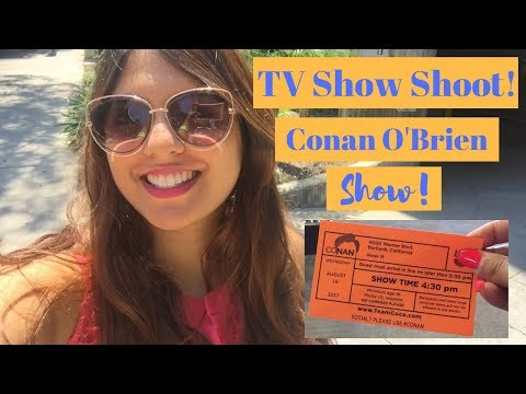 Attending the LIVE TAPING of a Conan O'Brien Show | Los Angeles | Nakhrebaaz
