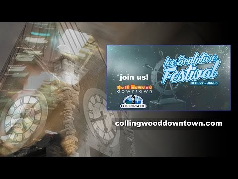 Collingwood Downtown Ice Sculpture Festival