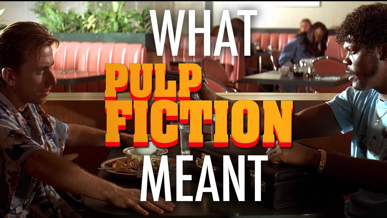 pulp fiction thematic structure Essay on postmodernism in pulp fiction - the film pulp fiction was an immediate box office success when it was released in 1994 and it was also well received by the critics, and celebrated for the way it appeared to capture exactly a certain pre-millennial angst and dislocation in western capitalist societies.
