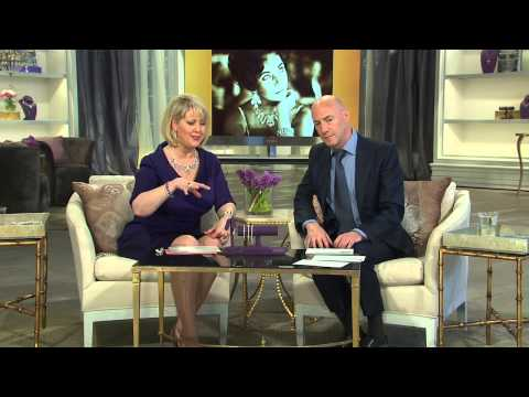 The Elizabeth Taylor Simulated Canary Diamond Drop Earrings with Mary Beth Roe