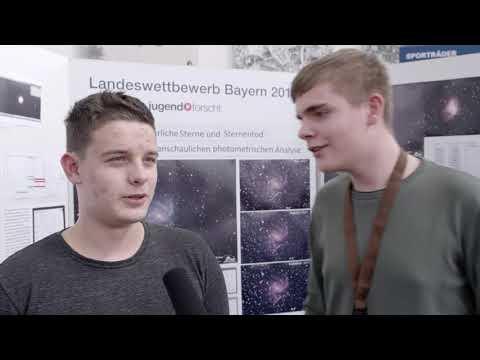 Jugend forscht 2018 -  Luis Wittmann und Michael Freund