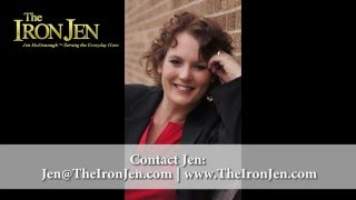 Resiliency Expert, Keynote Speaker, Workshop Trainer - The Iron Jen