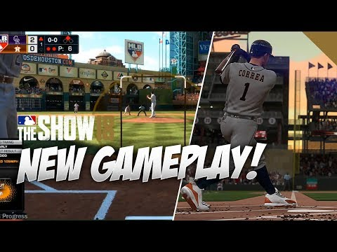 30 Minutes of New Gameplay in MLB The Show 18 Houston Astros vs Colorado Rockies