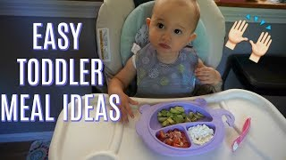 WHAT MY TODDLER EATS  N A DAY EASY Mealfood Ideas For 1 Year Old Toddler Tres Chic Mama