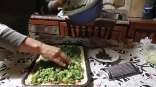 Моя Италия. Готовим с Инной. Итальянская вкуснятина. Пирог с брокколи. (Schiacciata messinese)