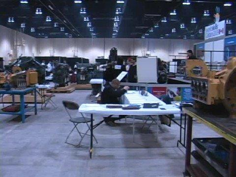 Skills Canada 2008 - Industrial Mechanic Millwright