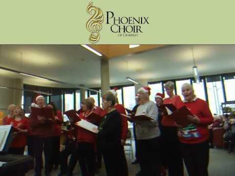 O, Little Town of Bethlehem - Phoenix Choir of Crawley at Library- Dec 2016