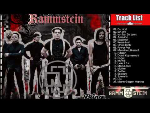 Rammstein Greatest Hits Full Album Playlist---Rammstein Nonstop Best Songs