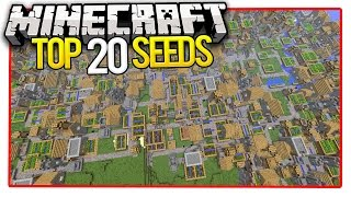 Minecraft Top 20 Seeds (Minecraft PE Seeds & Minecraft PC Seeds) 2016 - Stafaband