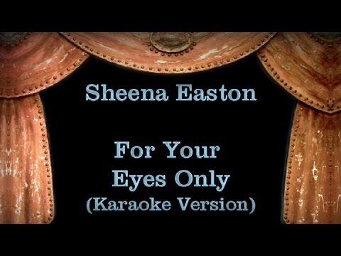 Sheena Easton - For Your Eyes Only Lyrics (Karaoke Version)