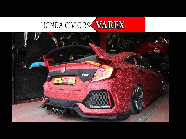HONDA CIVIC FC5 RS 1.5 KUMANDALI VAREX EGZOZ SESİ