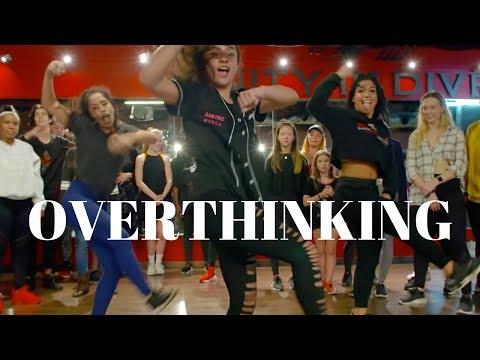 Overthinking- L2m Dance FT Tati McQuay | Dana Alexa Choreography