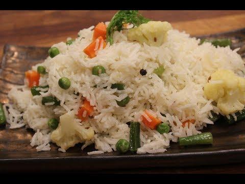 Simple Vegetable Pulao | Sanjeev Kapoor Khazana