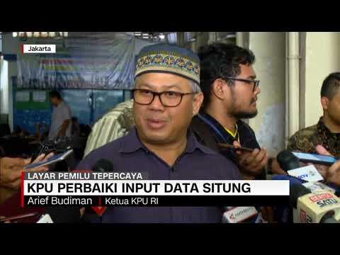 Situng KPU 87%: Jokowi-Prabowo Selisih 11 Persen