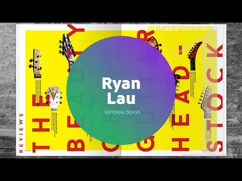 Live Editorial Design with Ryan Lau  1 of 3
