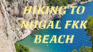 ON THE WAY TO FKK NUGAL BEACH MAKARSKA, CROATIA (w drodze na plażę Nugal)