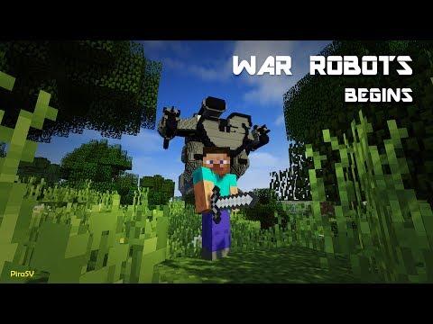 War Robots Begins ☢ Minecraft