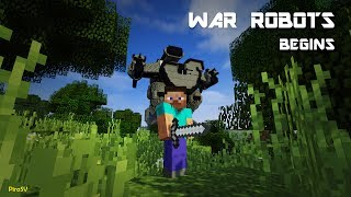 war robots begins minecraft