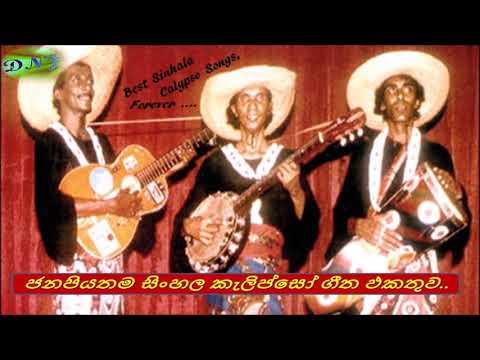Old Sinhala Calypso Songs / පැරණි සිංහල කණ්ඩායම් ගීත... / සිංහල කැලිප්සෝ/ Calypso Music