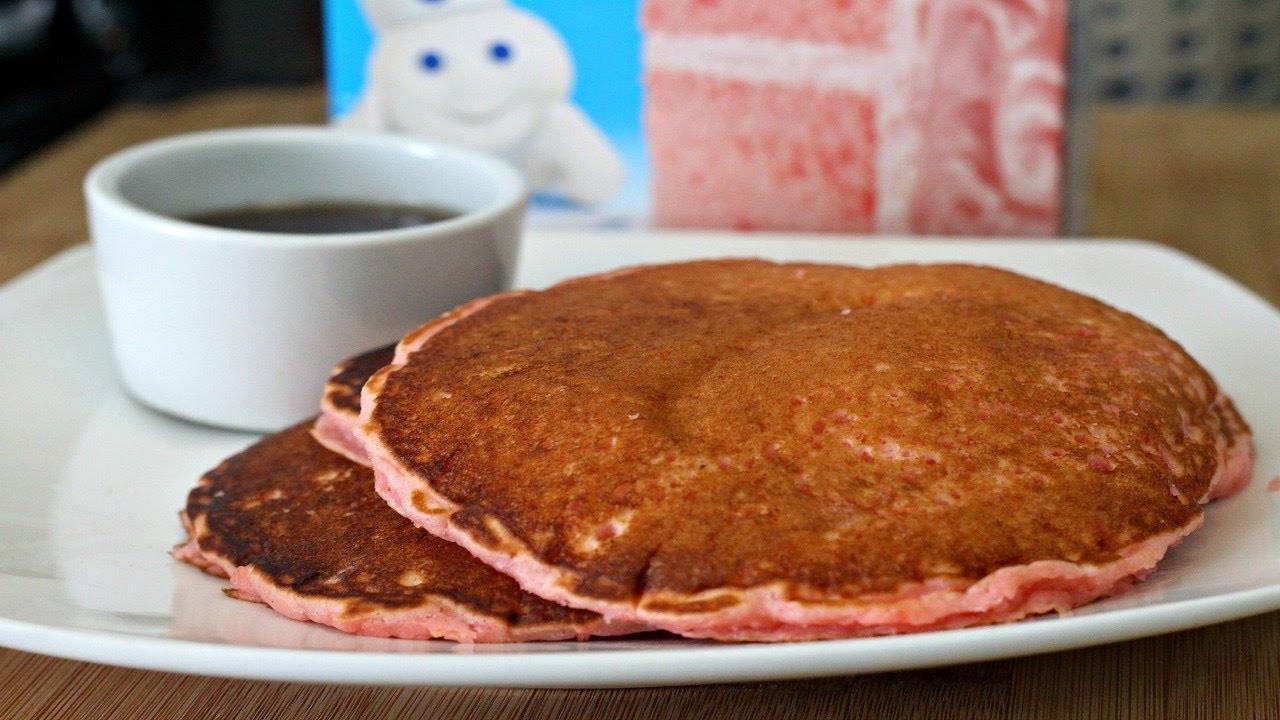 How to Make Pancakes UsingCAKE MIX YouTube