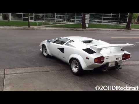 Lamborghini Countach Great Sound!