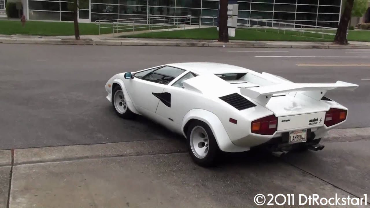Lamborghini Countach Great Sound Youtube