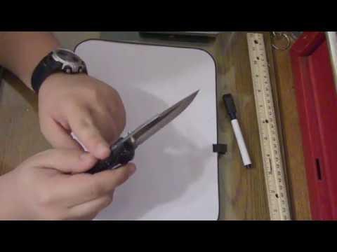 Knife Review: Buck 285 Bantam BLW