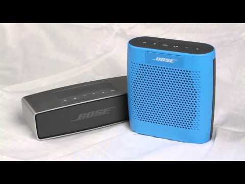 Bose Soundlink Mini vs Bose Soundlink Color | H2TechVideos