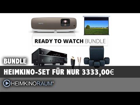 Get ready to watch! Das Heimkino Komplett Paket gegen die Virus Krise