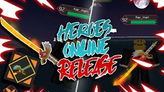 [NEW CODES] LEGENDARY ALPHA WEAPON! | Heroes Online | ROBLOX