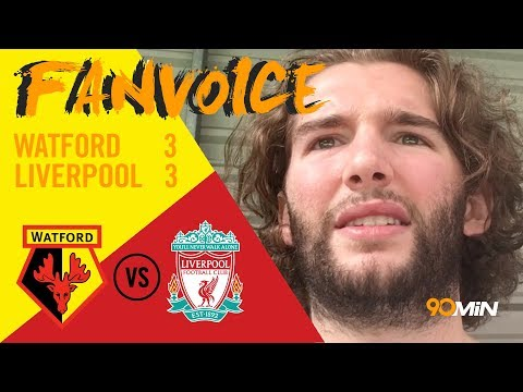 Watford 3-3 Liverpool | Britos scores late Watford equaliser against Liverpool! | 90min FanVoice
