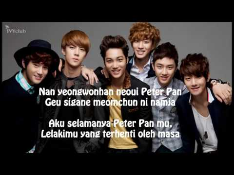 Exo K Peter Pan/lirik