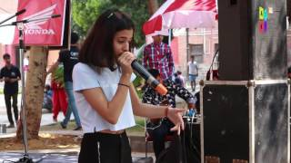 spectacular beatboxing performance by gargi college student   atkt in talent tent