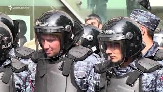Ոստիկանական կուտակումներ, բերման ենթարկված ցուցարարներ Գյուլբենկյան փողոցից