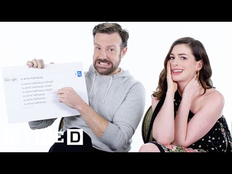 Anne Hathaway & Jason Sudeikis Answer the Web's Most Searched Questions  WIRED