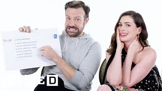 Anne Hathaway & Jason Sudeikis Answer the Web&...